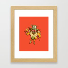 Nacho Man Framed Art Print
