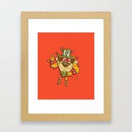 Nacho Man Framed Art Print