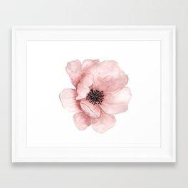 :D Flower Framed Art Print