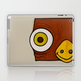 Brown bird Laptop & iPad Skin