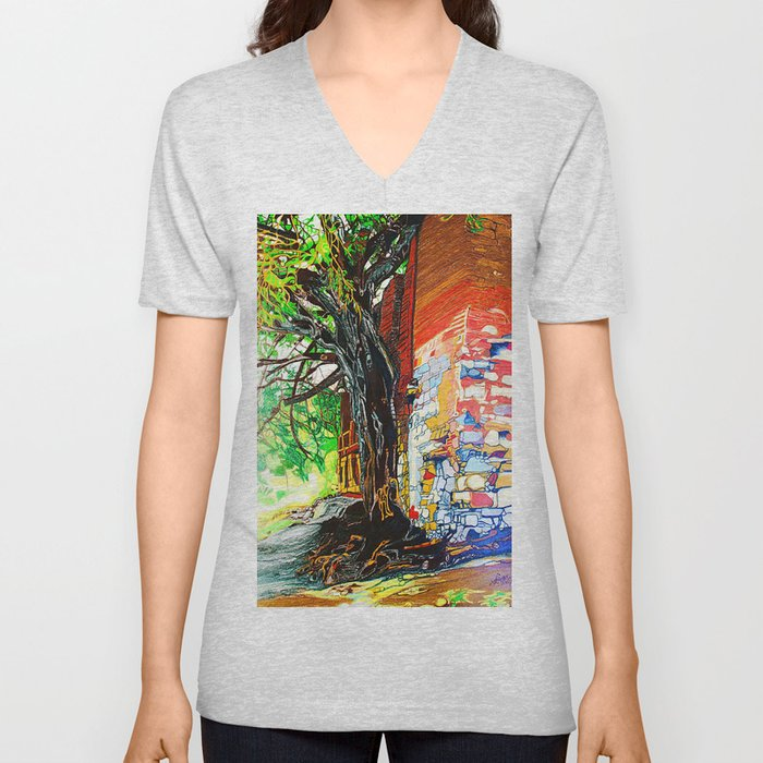 Ancient Pair Unisex V-Neck