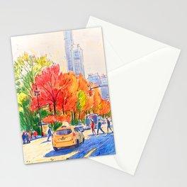 November in Central Park, Manhattan  Stationery Cards