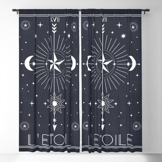 L'Etoile or The Star Tarot by cafelab