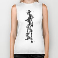 dna Biker Tanks featuring 'DNA' by ABITAR