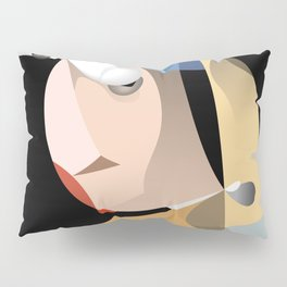 Girl with a Pearl Earring Pillow Sham