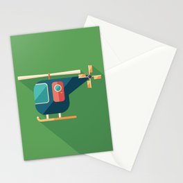 Civilian Helicopter Stationery Cards