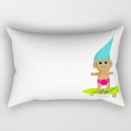 Skater Troll Kid Rectangular Pillow