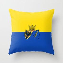 flag of Essen Throw Pillow