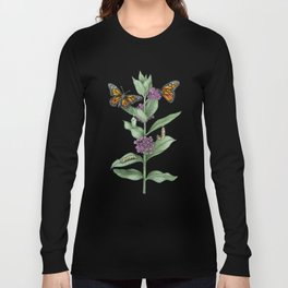 Monarch Butterfly Life Cycle Long Sleeve T-shirt