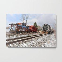 Lehigh Railway @ Milan, Pennsylvania Metal Print