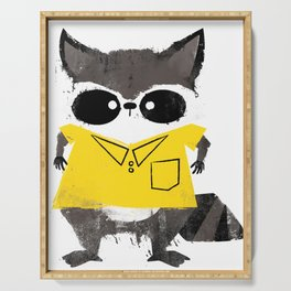 Missfits Raccoon Serving Tray