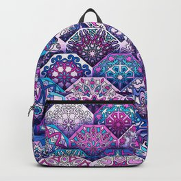 Bohemian Quilt Backpack
