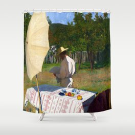 Károly Ferenczy October Shower Curtain