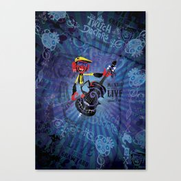 Münxis - Bass. The Twitch Doctors. Canvas Print
