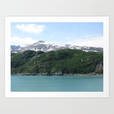 Contrasting Mountains Art Print