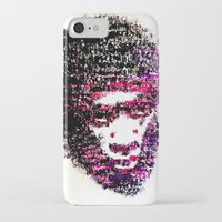 tyler the creator iPhone & iPod Cases featuring OBSCENE (Tyler the Creator) by Monica Diaz