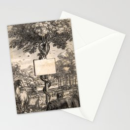 Designs for Book Illustrations Stationery Cards