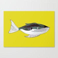 Whale, whale art, whale illustration, art, illustration, design, animal, whales, print, Canvas Print