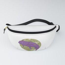 Axolotl Gothic Goth Water Aquarium Pet Animal Gift Fanny Pack