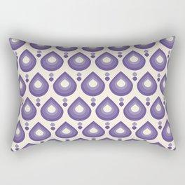 Drops Retro Ultra Violet Rectangular Pillow