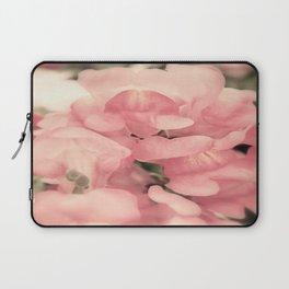 Soft Pink Snapdragons Laptop Sleeve