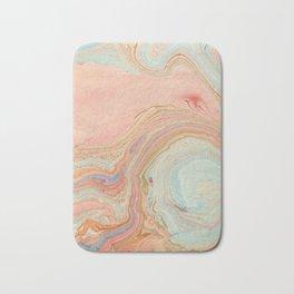 Pastel Marble Bath Mat
