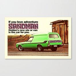 Holden Sandman Adventure Canvas Print