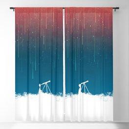 Meteor Rain (light version) Blackout Curtain