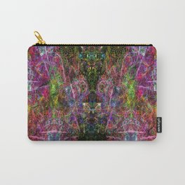 Third Mind Wiring (abstract, psychedelic, visionary) Carry-All Pouch