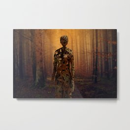 Metal Mummy Metal Print
