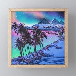 Life's a beach Framed Mini Art Print