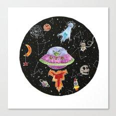 In a galaxy far far away. Canvas Print