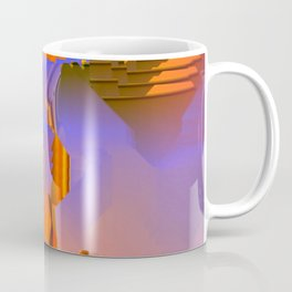 Desert Southwest Tribal Inspiration Colorful Abstract Art Coffee Mug