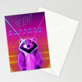 The Giant Racoon Stationery Cards