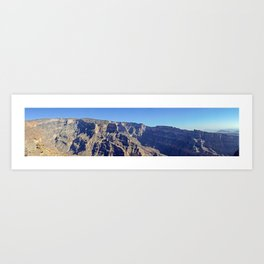 Jebel Shams - Oman Art Print