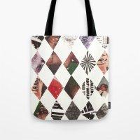 diamonds Tote Bags featuring DIAMONDS by Brandon Neher