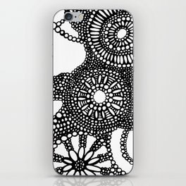 graphic dots pattern iPhone Skin