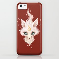 White Fox iPhone 5c Slim Case