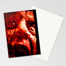 The Scream (In Red) Stationery Cards