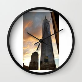 New York City - One World Trade Center Wall Clock