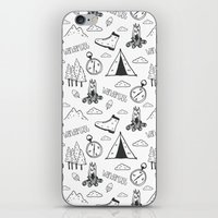 wanderlust iPhone & iPod Skins featuring Wanderlust by Tracie Andrews