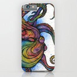 The Rainbow Octopus iPhone Case