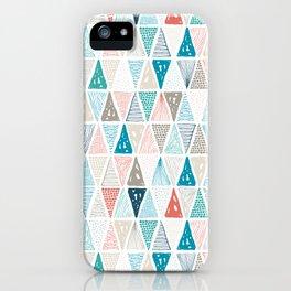 Wondrous Earth Pattern iPhone Case