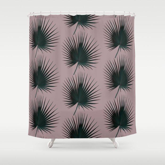 Palm Leaf Edition Shower Curtain