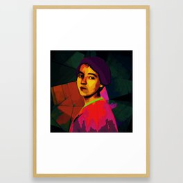 Anita Malfatti, revolutionary; Framed Art Print