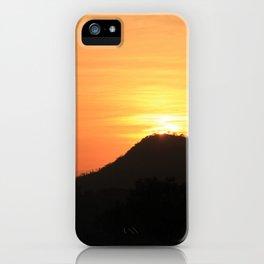 Safari Sunrise iPhone Case