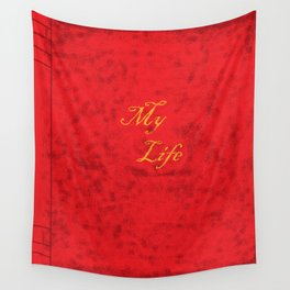 My Life Wall Tapestry