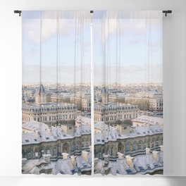 Paris from Above | Eiffel Tower View | Europe Travel Photography Blackout Curtain