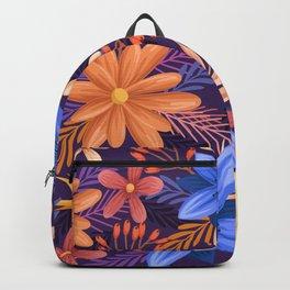 Floral pattern concept Concepto de patrón floral Blumenmusterkonzept Concept de motif floral Backpack