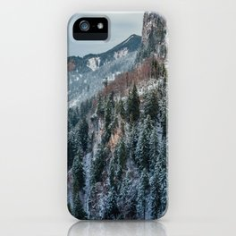 Forest - Bavarian alps iPhone Case